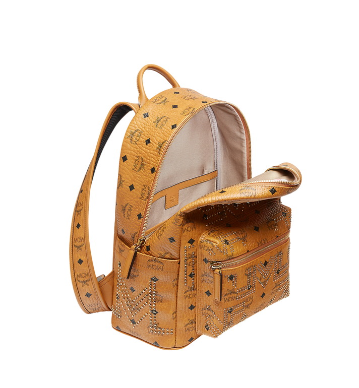 MCM STARK RUCKSACK IN GUNTA M STUDS VISETOS MMK8AVE89CO001 AlternateView5