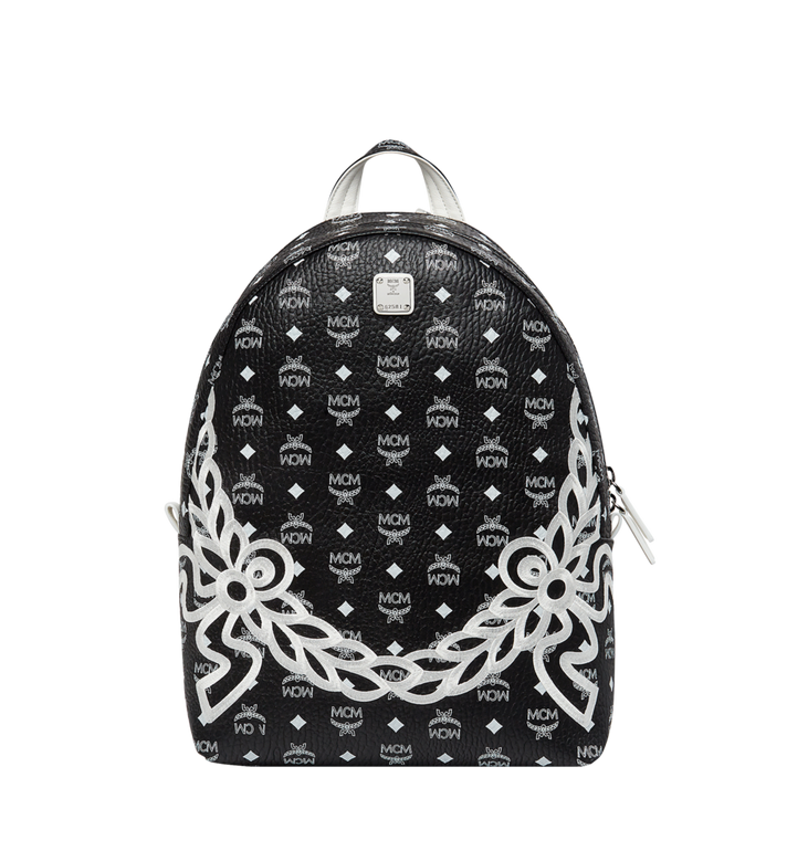 MCM Dietrich Laurel Backpack in Visetos MMK8SDI05BV001 AlternateView