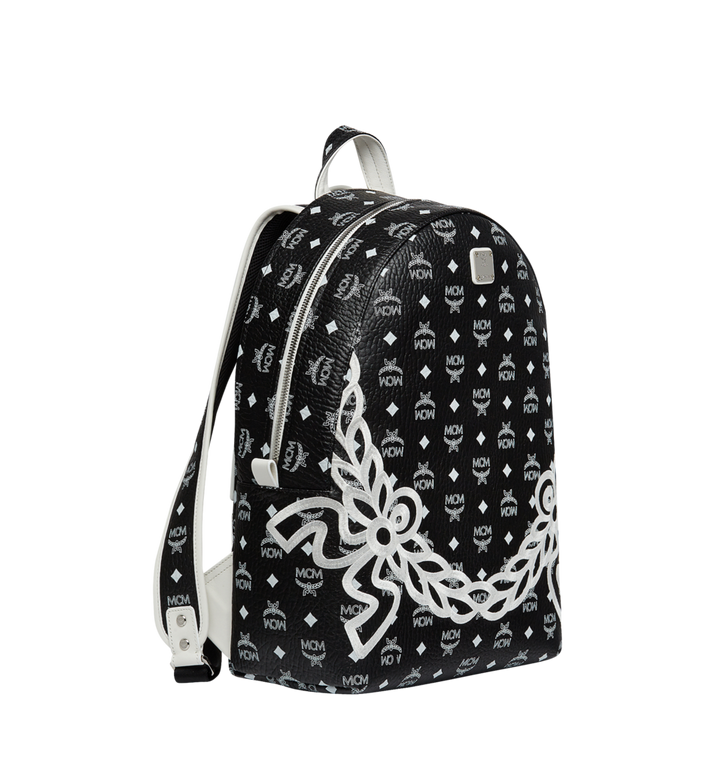 MCM Dietrich Laurel Backpack in Visetos MMK8SDI05BV001 AlternateView2