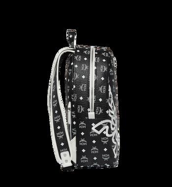 MCM Dietrich Laurel Backpack in Visetos MMK8SDI05BV001 AlternateView3