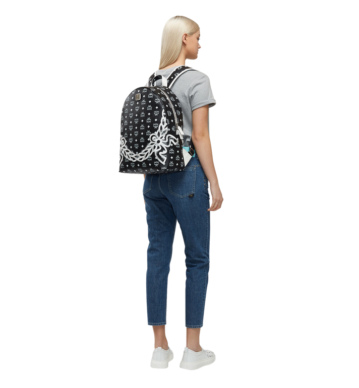 MCM Dietrich Laurel Backpack in Visetos MMK8SDI05BV001 AlternateView6
