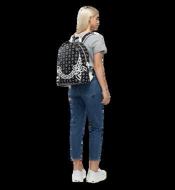 MCM Dietrich Laurel Backpack in Visetos MMK8SDI05BV001 AlternateView6