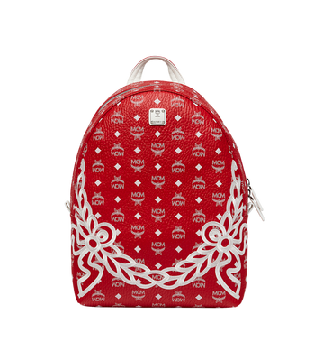 MCM Dietrich Laurel Backpack in Visetos MMK8SDI05RV001 AlternateView