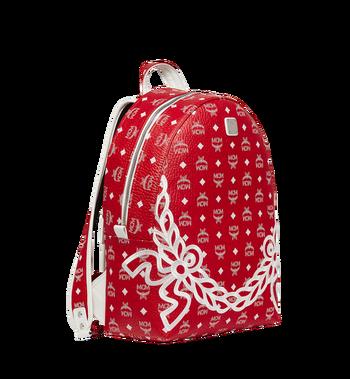 MCM Dietrich Laurel Backpack in Visetos MMK8SDI05RV001 AlternateView2