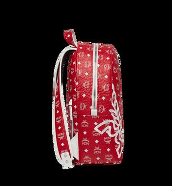 MCM Dietrich Laurel Backpack in Visetos MMK8SDI05RV001 AlternateView3