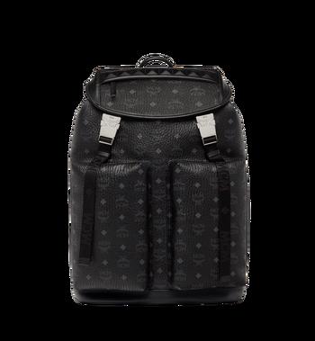 MCM Kreuzberg Backpack in Visetos MMK8SGE01BK001 AlternateView
