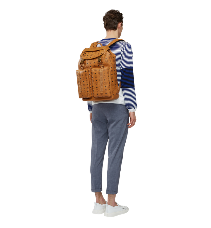 MCM Kreuzberg Backpack in Visetos MMK8SGE01CO001 AlternateView6