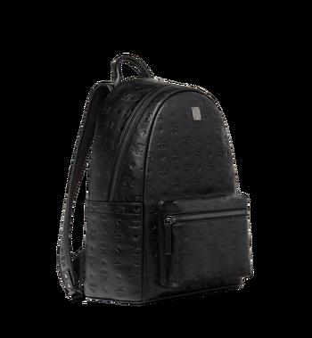 MCM Stark Backpack in Monogram Leather MMK8SOT43BK001 AlternateView2
