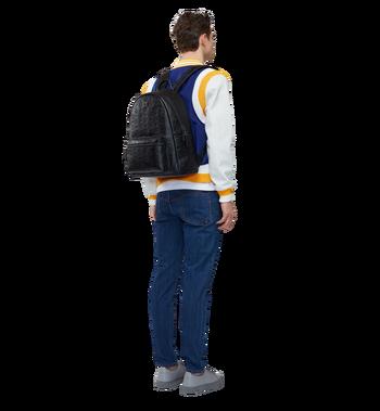MCM Stark Backpack in Monogram Leather MMK8SOT43BK001 AlternateView6