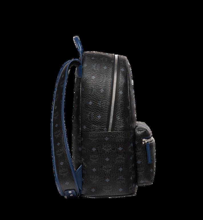 MCM Stark Chevron Stripe Backpack in Visetos MMK8SVE45BK001 AlternateView3
