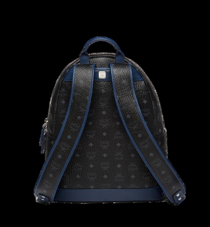 MCM Stark Chevron Stripe Backpack in Visetos MMK8SVE45BK001 AlternateView4