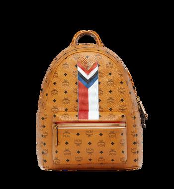 MCM Stark Chevron Stripe Backpack in Visetos MMK8SVE45CO001 AlternateView