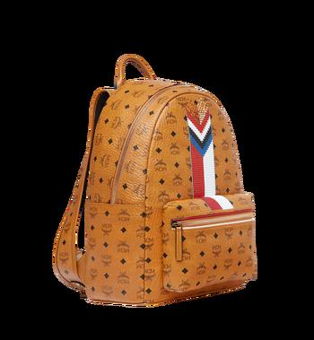 MCM Stark Chevron Stripe Backpack in Visetos MMK8SVE45CO001 AlternateView2