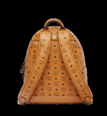 MCM Stark Chevron Stripe Backpack in Visetos MMK8SVE45CO001 AlternateView4
