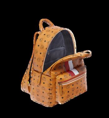 MCM Stark Chevron Stripe Backpack in Visetos MMK8SVE45CO001 AlternateView5