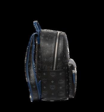 MCM Stark Chevron Stripe Backpack in Visetos MMK8SVE46BK001 AlternateView3