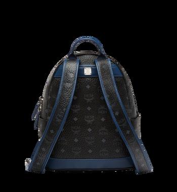 MCM Stark Chevron Stripe Backpack in Visetos MMK8SVE46BK001 AlternateView4