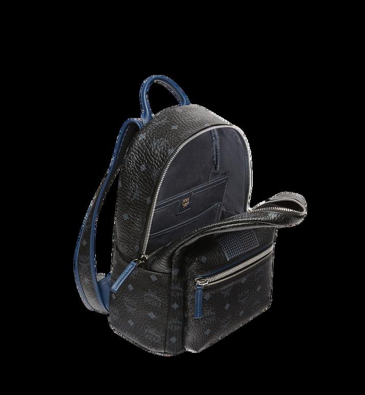 MCM Stark Chevron Stripe Backpack in Visetos MMK8SVE46BK001 AlternateView5