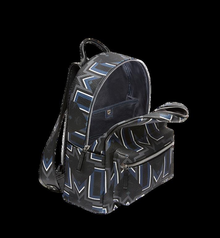MCM Stark Gunta M Stripe Backpack in Visetos MMK8SVE53BK001 AlternateView5