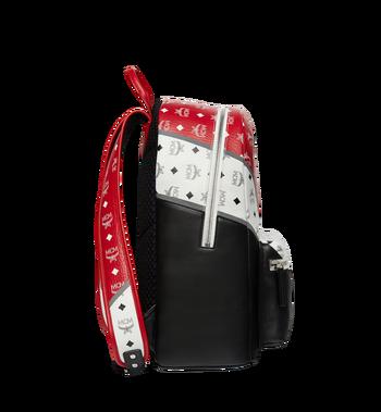 MCM Stark Chevron Backpack in Visetos Colorblock Leath MMK8SVE76BK001 AlternateView3