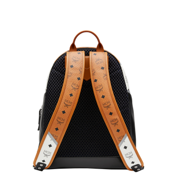 MCM Stark Chevron Backpack in Visetos Colorblock Leath MMK8SVE76CO001 AlternateView4