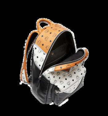 MCM Stark Chevron Backpack in Visetos Colorblock Leath MMK8SVE76CO001 AlternateView5