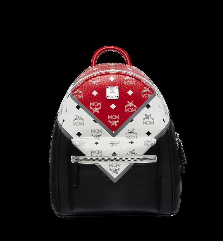 MCM Stark Chevron Backpack in Visetos Colorblock Leath MMK8SVE77BK001 AlternateView