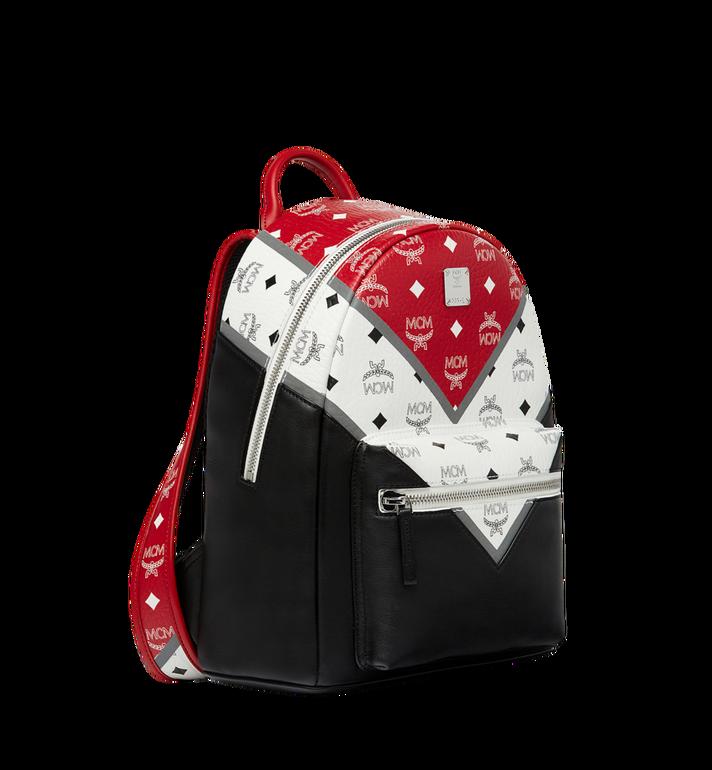 MCM Stark Chevron Backpack in Visetos Colorblock Leath MMK8SVE77BK001 AlternateView2