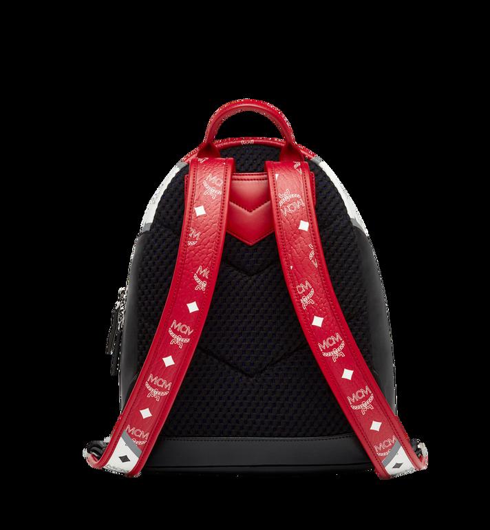MCM Stark Chevron Backpack in Visetos Colorblock Leath MMK8SVE77BK001 AlternateView4