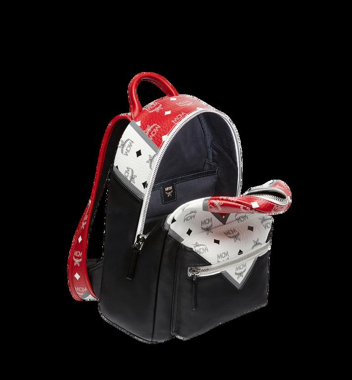 MCM Stark Chevron Backpack in Visetos Colorblock Leath MMK8SVE77BK001 AlternateView5