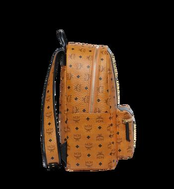 MCM Stark Logo Stripe Backpack in Visetos MMK8SVE82CO001 AlternateView3