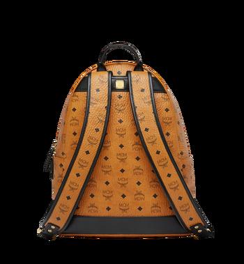 MCM Stark Logo Stripe Backpack in Visetos MMK8SVE82CO001 AlternateView4