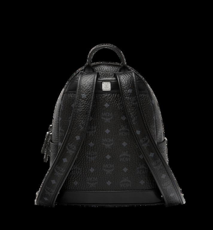 MCM Stark Logo Stripe Backpack in Visetos MMK8SVE94BK001 AlternateView4