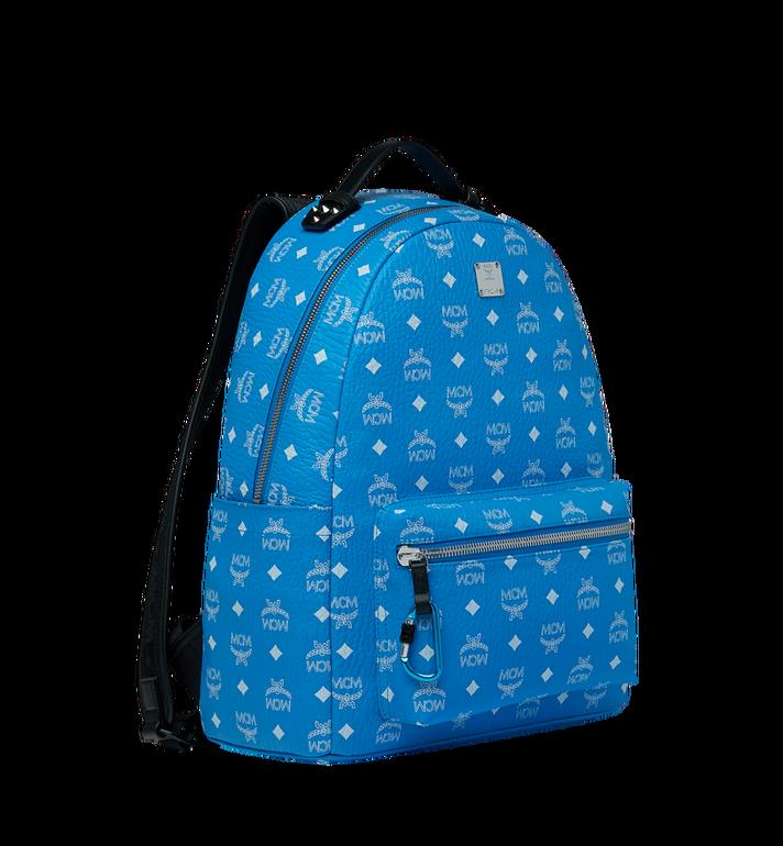 MCM Stark Backpack in White Logo Visetos MMK9SVE48HI001 AlternateView2