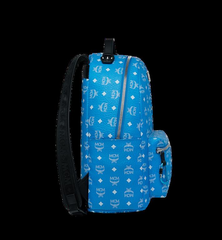 MCM Stark Backpack in White Logo Visetos MMK9SVE48HI001 AlternateView3