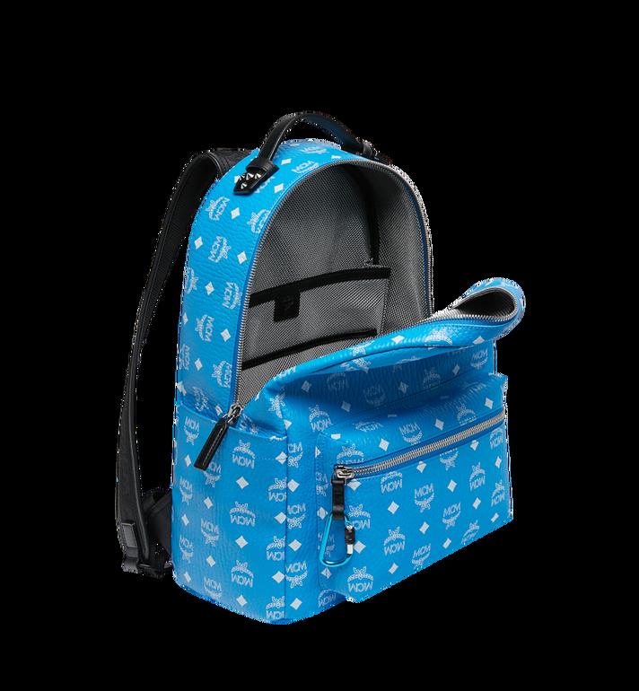 MCM Stark Backpack in White Logo Visetos MMK9SVE48HI001 AlternateView5