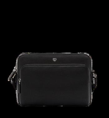 MCM Ottomar Messenger-Tasche aus genarbtem Leder MMM7AOT15BK001 AlternateView