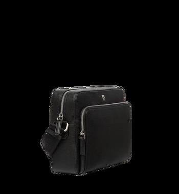 MCM Ottomar Messenger-Tasche aus genarbtem Leder MMM7AOT15BK001 AlternateView2