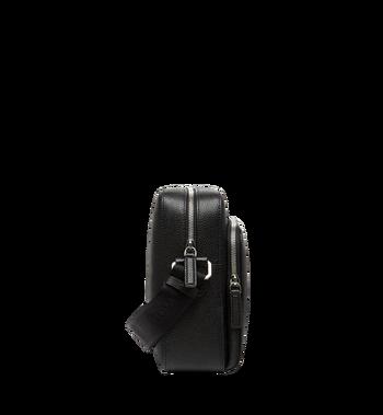 MCM Ottomar Messenger-Tasche aus genarbtem Leder MMM7AOT15BK001 AlternateView3