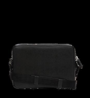 MCM Ottomar Messenger-Tasche aus genarbtem Leder MMM7AOT15BK001 AlternateView4