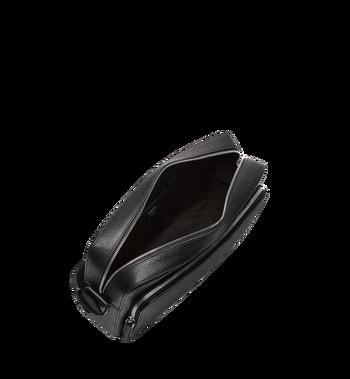 MCM Ottomar Messenger-Tasche aus genarbtem Leder MMM7AOT15BK001 AlternateView5