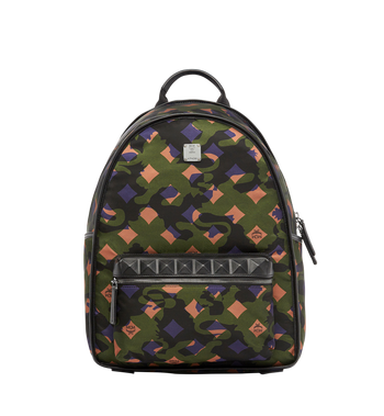 MCM Dieter Backpack in Munich Lion Camo Nylon MUK7ADT01GX001 AlternateView1