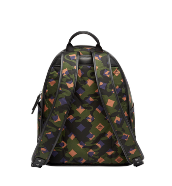 MCM Dieter Backpack in Munich Lion Camo Nylon MUK7ADT01GX001 AlternateView4