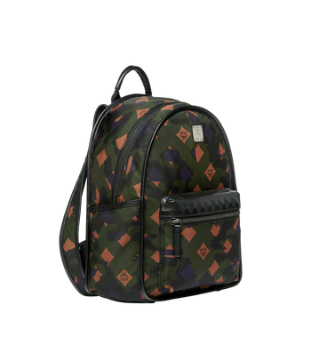 MCM Dieter Backpack in Munich Lion Camo Nylon MUK7ADT02GX001 AlternateView2