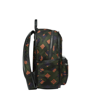 MCM Dieter Backpack in Munich Lion Camo Nylon MUK7ADT02GX001 AlternateView3