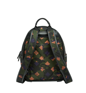 MCM Dieter Backpack in Munich Lion Camo Nylon MUK7ADT02GX001 AlternateView4