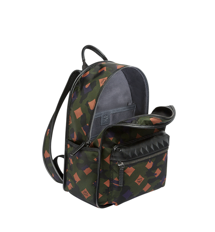 MCM Dieter Backpack in Munich Lion Camo Nylon MUK7ADT02GX001 AlternateView5