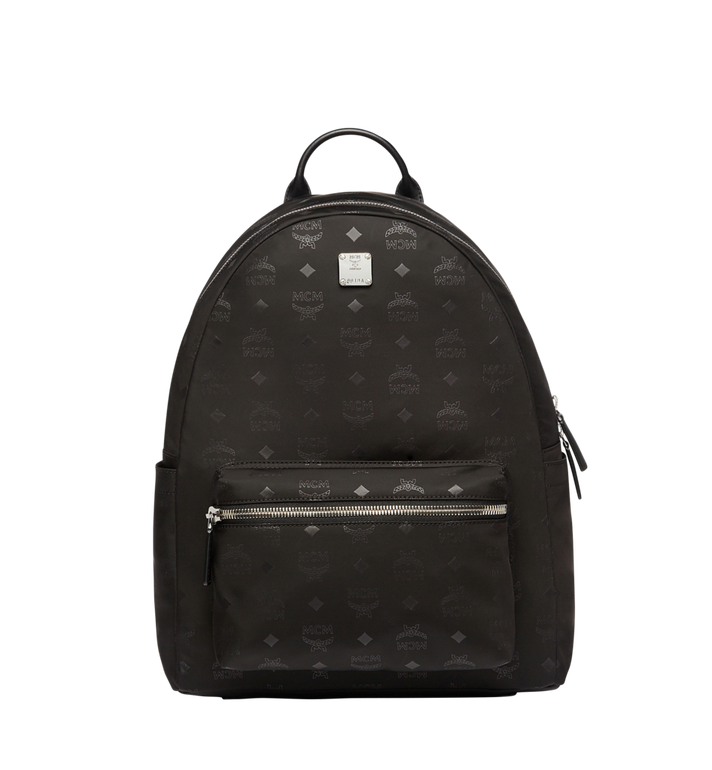 MCM Stark Classic Backpack in Monogram Nylon MUK7ADT10BK001 AlternateView