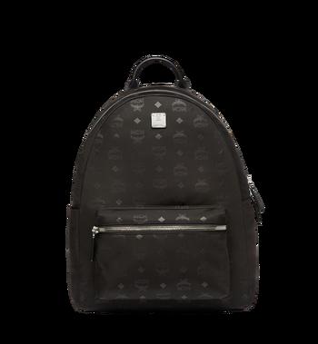 MCM Stark Classic Backpack in Monogram Nylon MUK7ADT10BK001 AlternateView