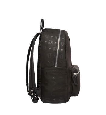 MCM Stark Classic Backpack in Monogram Nylon MUK7ADT10BK001 AlternateView3